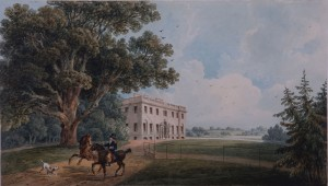 Thomas Hornor's 1815 painting of Middleton Hall