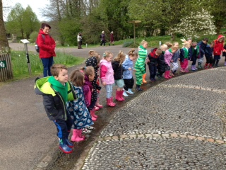 Wellies on for outdoor fun