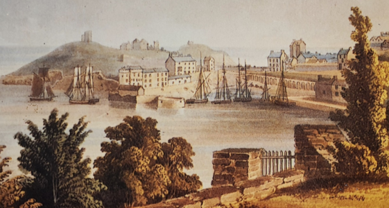 'The early birth of Tenby as a tourist resort' An online exhibition by Peter Stopp